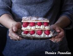 Raspberry millefeuille-1